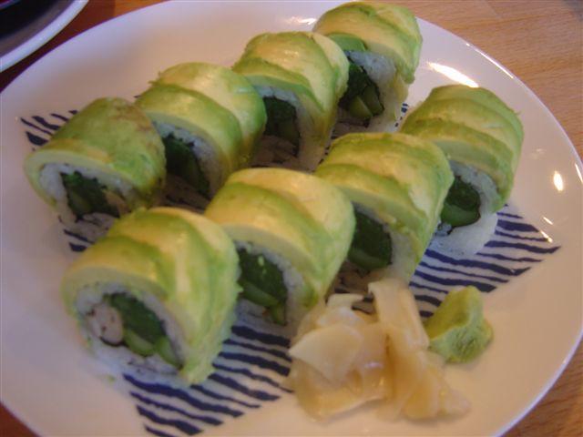 Avocado Sushi Rolls   Flickr - Photo Sharing!