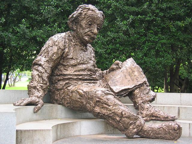 Albert Einstein Memorial at National Academy of Sciences