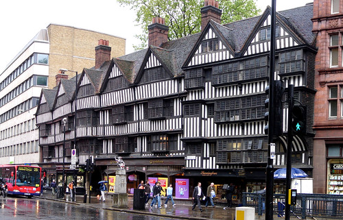 Staple Inn, Chancery Lane, London by Craig Grobler