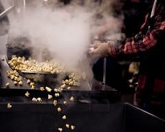 fresh hot kettle corn