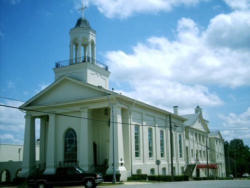 church downtown 50views marshalltexas firstmethodist westhoustonst