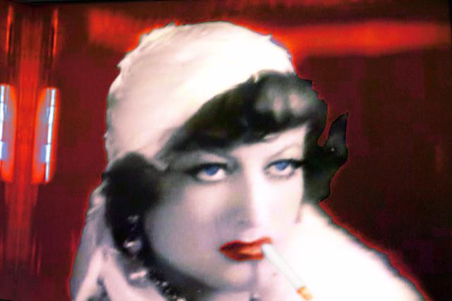 Joan Crawford TV Shot