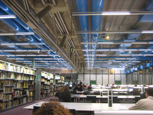 Studying at the Centre Pompidou Library