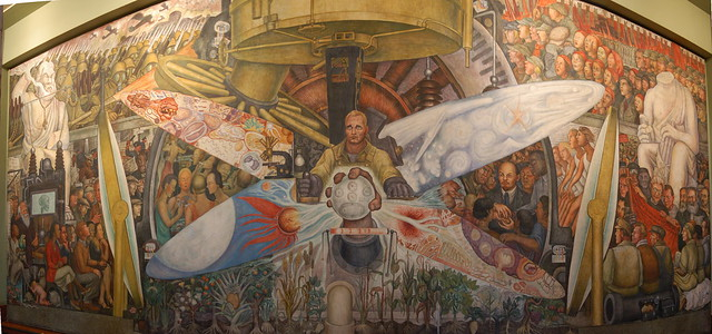 Diego rivera mural bellas artes flickr photo sharing for Diego rivera rockefeller mural