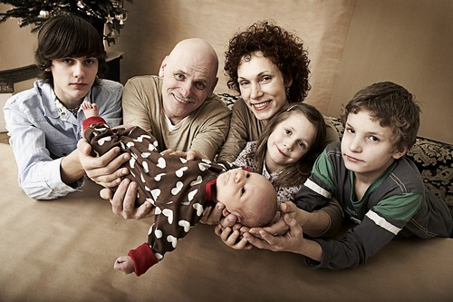 My happy family - Eduard,Me,Biba,Bernadeta Paula, Henrij Paul and GREGOR PETER