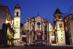 Havana Cathedral at Dawn