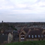 Cambridge, west from Castle Mound