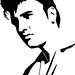Fun in the 50's additionally Retro Clip Art Quirky Women likewise 329466528961654231 additionally 162 Microfono likewise Collectionedwn Elvis Presley Silhouette. on elvis 50s clip art