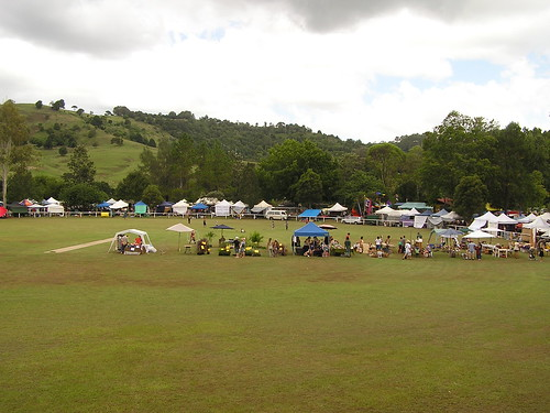 Market on the Cricket Pitch