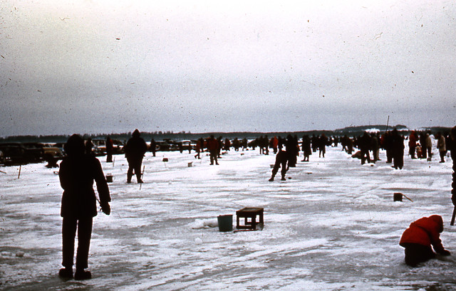 Ice fishing on lake bemidji flickr photo sharing for Ice fishing apps