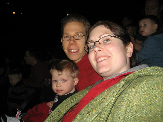 Benjamin, Jessica and Mike at Sesame Street Live