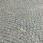 Cobblestones, Van Dyke Street, Red Hook, Brooklyn