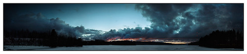 sky panorama moon night clouds finland evening venus pentax sigma istd hugin 2418
