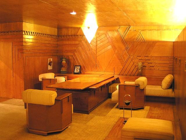 Frank Lloyd Wright furniture | Flickr - Photo Sharing!