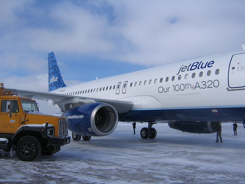 JetBlue in Goose Bay