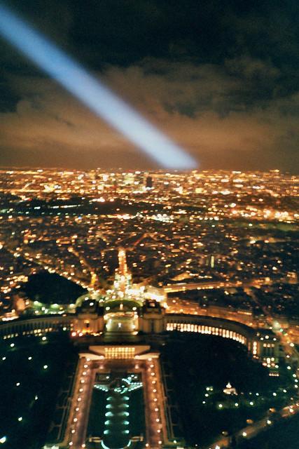 Spotlight and Palais de Chaillot