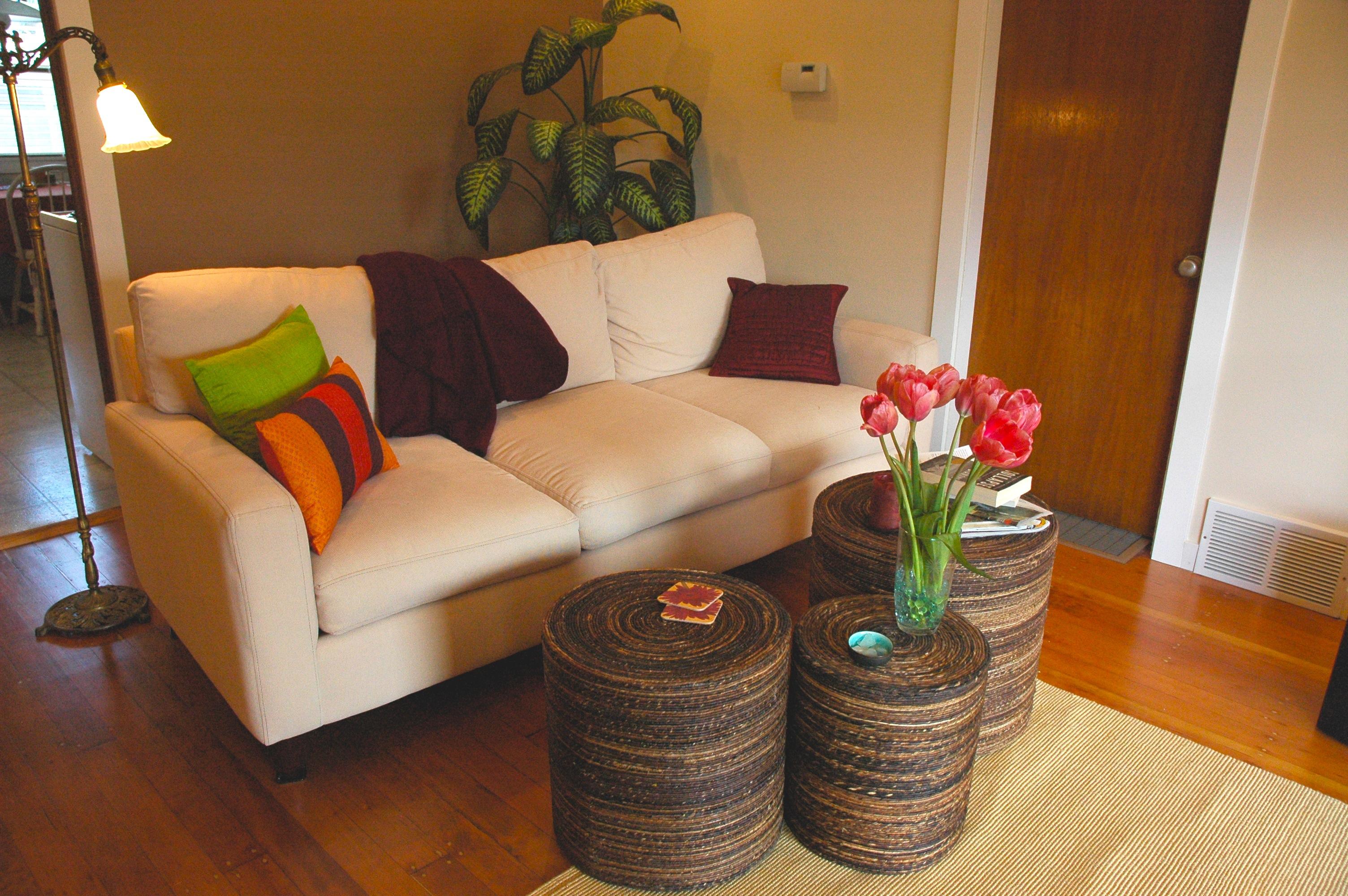 Bright Walls Living Room