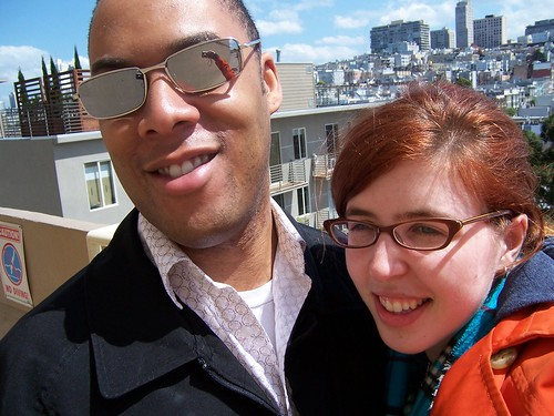 Masheka and Mikhaela in San Francisco