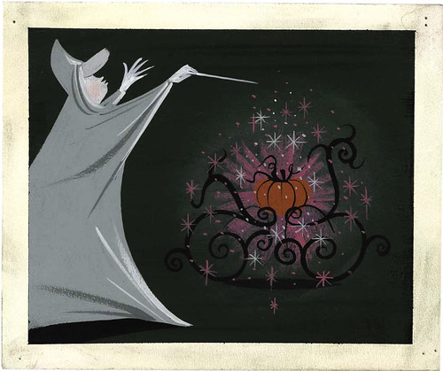 Cinderella concept by Mary Blair