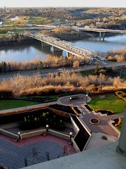 South Edmonton, from the Hotel Macdonald 2007