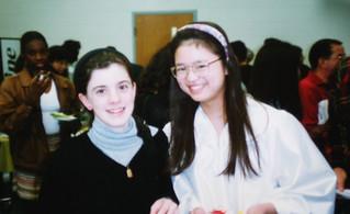 With Elaine