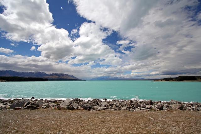 Big skies above Lake Pukaki