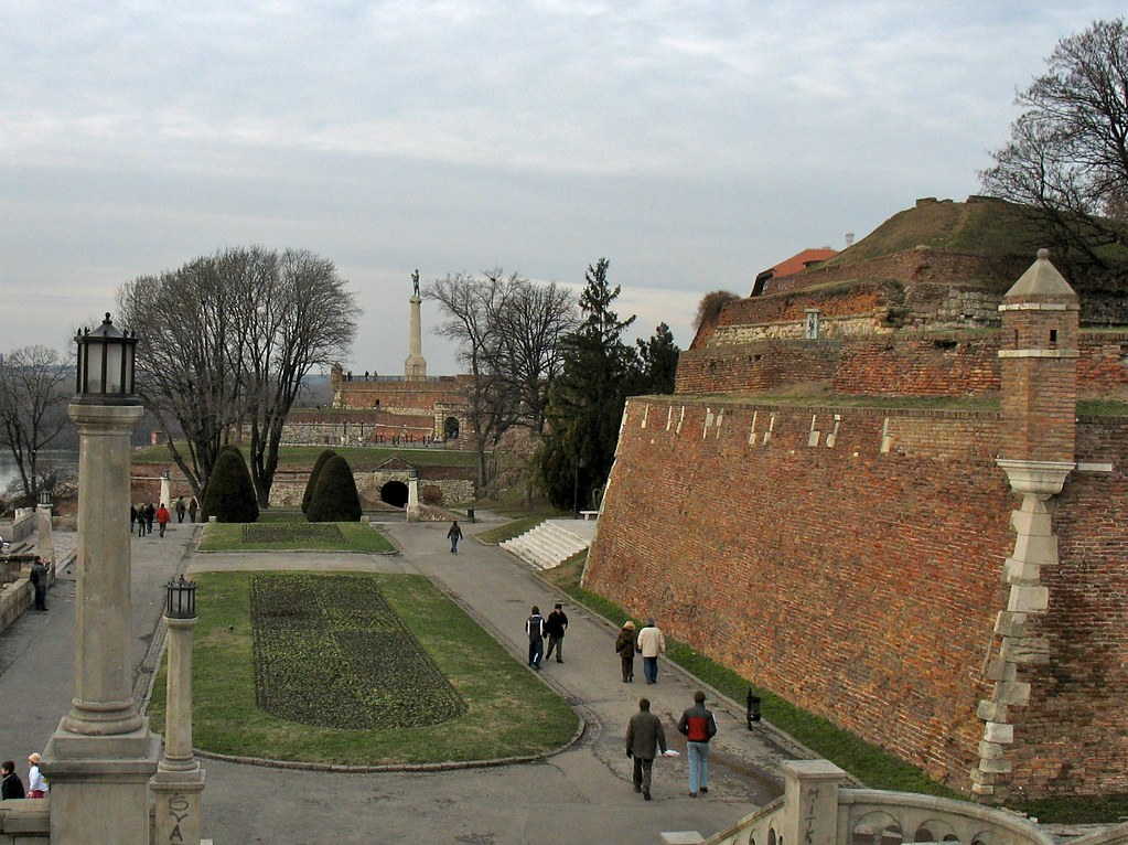 Strolling on the Kalemegdan