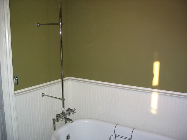Clawfoot Tub Shower Riser And Brackets Flickr Photo Sharing
