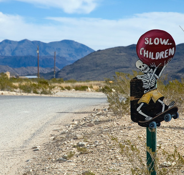slow skeleton children at terlingua