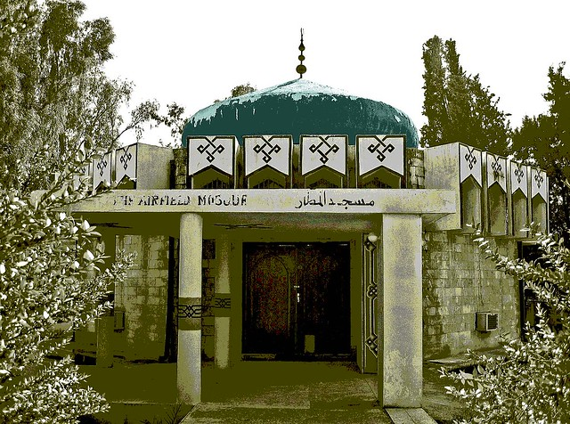 The Green Mosque illustrated