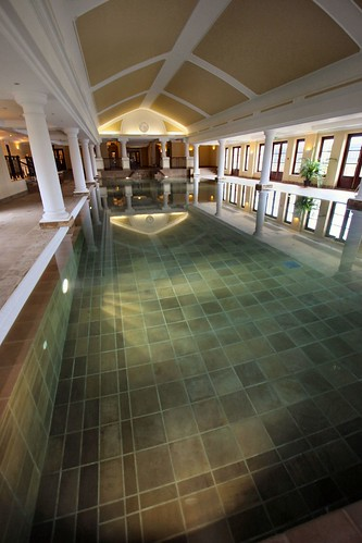 Swimming pool at our health club
