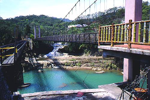 J739十分眼鏡洞觀瀑吊橋