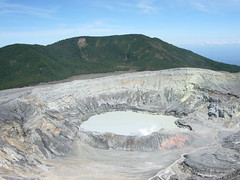 moraine(0.0), reservoir(0.0), infrastructure(0.0), volcanic crater(1.0), geology(1.0), plateau(1.0), terrain(1.0), quarry(1.0), volcanic landform(1.0),