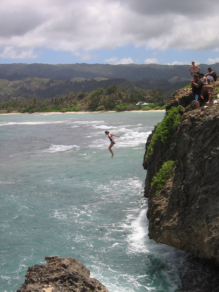 Jumping Laie Point