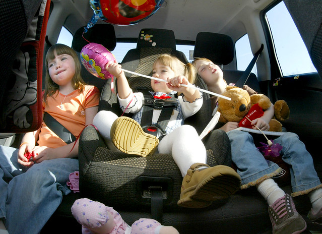 Travelling With Children - Tips For Reducing Distraction
