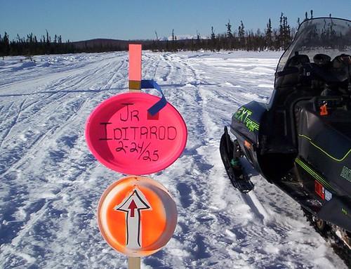 Jr. Iditarod Trail Sign