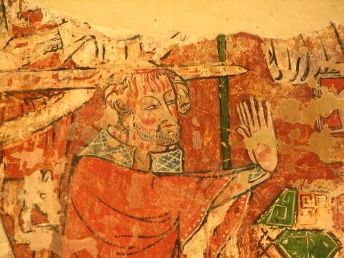 Detail of St Thomas of Canterbury