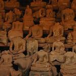 Broken Buddha Statues - Vientiane, Laos