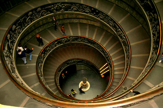 Round & Round at the Vatican--On flickr Explore