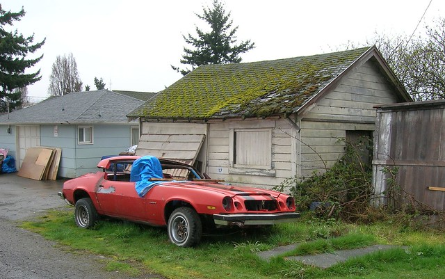 Old Mossy Car