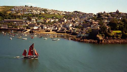 fowey harbour...