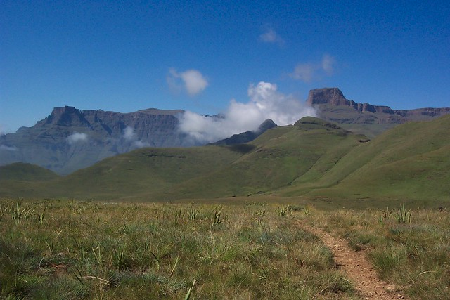 Drakensberg Mountains Cathedral Flickr Photo Sharing
