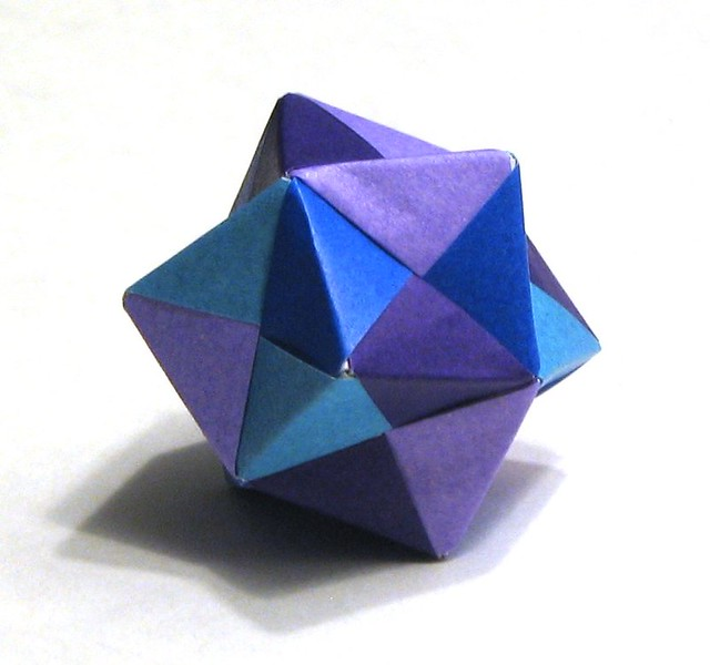 How To Make A Origami Octahedron