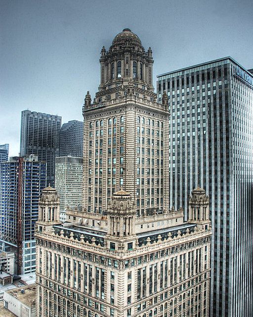 Jewelers Building as seen from Hotel 71
