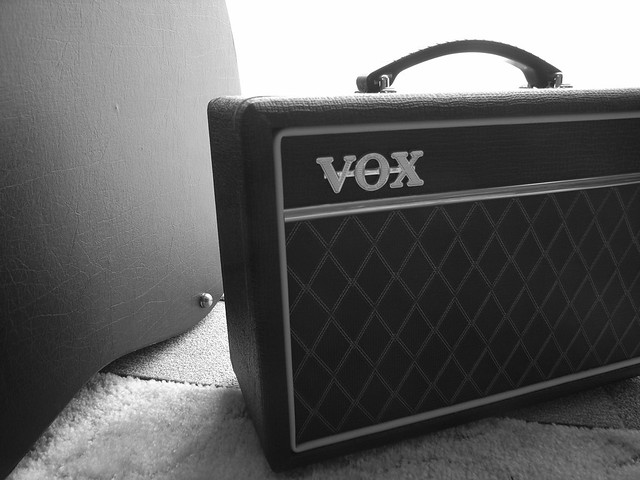 Photo:VOX Guitar amp. By matsuyuki