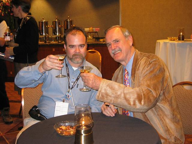 Shaan Hurley & John Cleese