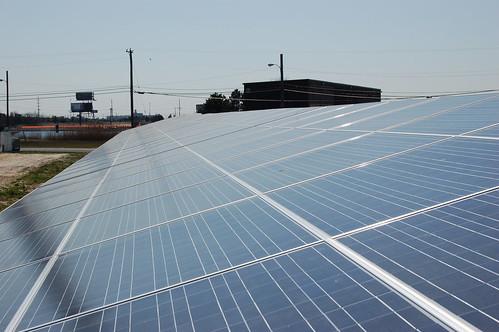 Photovoltaic ground mount array