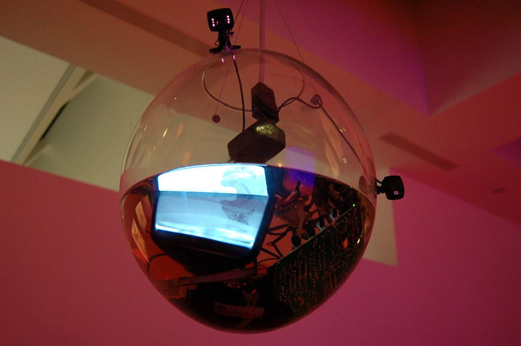 Underwater cctv