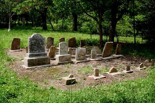 Choctaw slave grave site