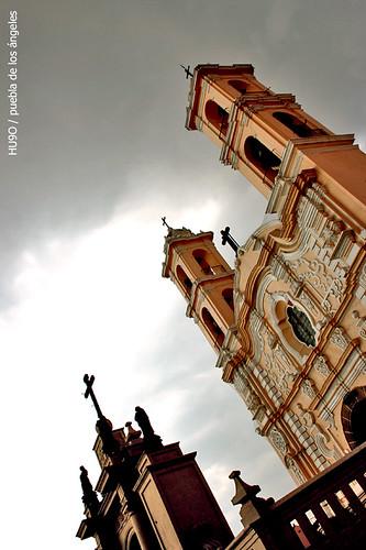 Iglesia de los Remedios en Cholula